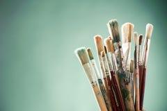 Mieszanki maluje muśnięcia obrazy royalty free