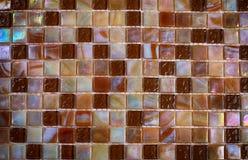 Mieszanki nacre szkła błyszcząca mozaika Obraz Stock