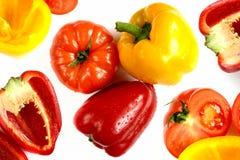 mieszanki papryki pomidor Zdjęcia Stock