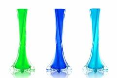 mieszanki szklana waza Zdjęcie Stock