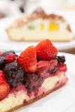 Mieszanki tarta jagodowy tort Obrazy Royalty Free