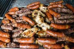 Mieszany BBQ obraz stock