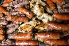 Mieszany BBQ obraz royalty free