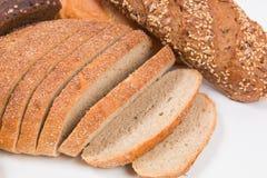 Mieszany frash piec chleb Obrazy Royalty Free
