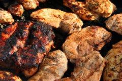 Mieszany grill 7 Zdjęcia Stock
