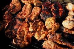 Mieszany grill 3 Zdjęcia Royalty Free