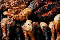 Mieszany grill 4 Zdjęcie Royalty Free