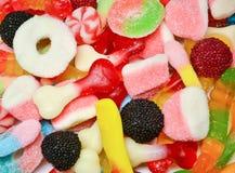 Mieszany kolorowy cukierku t?o zdjęcia royalty free