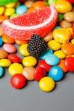 Mieszany kolorowy owocowy bonbon zakończenie up Zdjęcie Stock