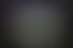 Mieszany lekki Czarny syntetyczny rzemienny tło z winietą Zdjęcie Stock