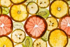 Mieszany zdrowy owoc tło Obrazy Royalty Free