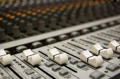 mieszarka audio Obraz Stock