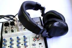 mieszarka audio zdjęcia royalty free