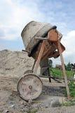 mieszarka betonowego stary fotografia royalty free