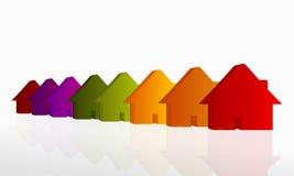 mieszkań nieruchomości domów prawdziwego czynszu sprzedaży Zdjęcia Stock