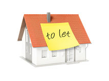 mieszkań nieruchomości domów prawdziwego czynszu sprzedaży Obraz Stock