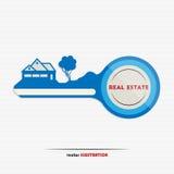 mieszkań nieruchomości domów prawdziwego czynszu sprzedaży royalty ilustracja