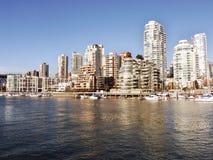 mieszkań własnościowych zatoczki fałszywy nabrzeże Fotografia Royalty Free