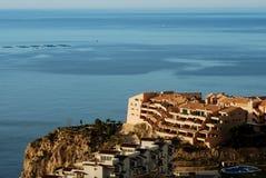 mieszkań morza widok Zdjęcie Stock