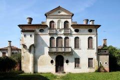 Mieszkający w parku willa Pisani, Włochy, Stra Obraz Royalty Free