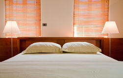 mieszkania łóżko Obrazy Stock