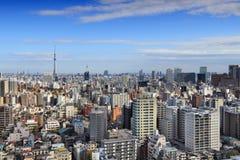 mieszkania architektury budynku budynków betonowego szklanego wysokiego Japan nowożytnego mieszkaniowego wzrosta stalowy Tokyo wi obraz stock