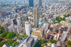 mieszkania architektury budynku budynków betonowego szklanego wysokiego Japan nowożytnego mieszkaniowego wzrosta stalowy Tokyo wi Fotografia Royalty Free