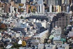 mieszkania architektury budynku budynków betonowego szklanego wysokiego Japan nowożytnego mieszkaniowego wzrosta stalowy Tokyo wi Zdjęcia Royalty Free