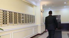 Mieszkania Concierge: Obsługuje na skrzynki pocztowa tle zbiory