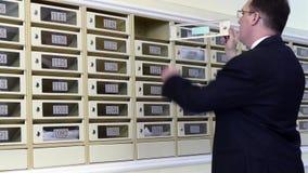Mieszkania Concierge: Obsługuje na skrzynki pocztowa tle zdjęcie wideo
