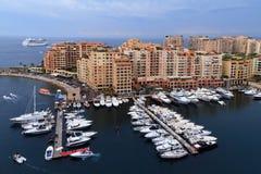 Mieszkania & łodzie Obrazy Royalty Free
