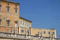 mieszkania pope s Vatican Zdjęcie Royalty Free