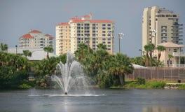 Mieszkania własnościowe i mieszkania wodą Obrazy Royalty Free
