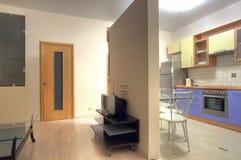 mieszkania wizerunku zamieszkany multiroom zdjęcie stock