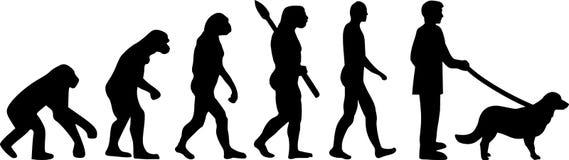 Mieszkanie aporteru Pokryta ewolucja royalty ilustracja