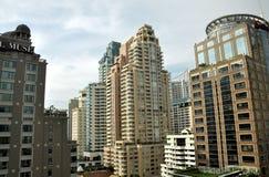 mieszkanie Bangkok nowożytny Thailand góruje Zdjęcia Royalty Free