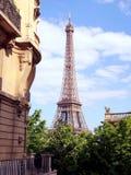 Mieszkanie blisko wieży eifla, Paryż Obraz Royalty Free
