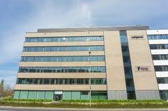 mieszkanie budynku biura w interesach miejsca pracy Obrazy Royalty Free
