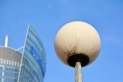 mieszkanie budynku biura w interesach miejsca pracy interes wysoki nowoczesny budynek drapacz chmur Powierzchowność budynek Obrazy Stock