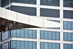 mieszkanie budynku biura w interesach miejsca pracy interes wysoki nowoczesny budynek drapacz chmur Powierzchowność budynek Obrazy Royalty Free