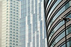 mieszkanie budynku biura w interesach miejsca pracy interes wysoki nowoczesny budynek drapacz chmur Powierzchowność budynek Obraz Stock