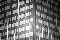 mieszkanie budynku biura w interesach miejsca pracy Tło okno Fotografia Stock