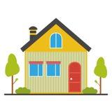 Mieszkanie domowa ikona Zdjęcia Royalty Free
