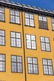 Mieszkanie żelazny budynek, Norrkoping obrazy royalty free
