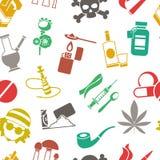 Mieszkanie leków wzór Obraz Royalty Free