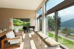 Mieszkanie meblujący, żyjący pokój obraz royalty free