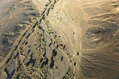 Mieszkanie Namib Naukluft park narodowy w Namibia z balonem obrazy royalty free