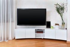 Mieszkanie parawanowy tv Zdjęcie Royalty Free