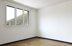 mieszkanie pokój pusty nowy zdjęcia stock