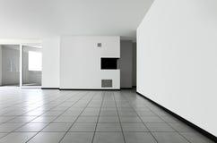 mieszkanie pokój pusty nowy zdjęcie stock